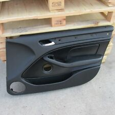 BMW E46 323i 325i 330i BLACK INTERIOR FRONT RIGHT DOOR PANEL TRIM