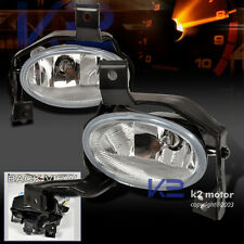 For 2010-2011 Honda CRV Clear Bumper Fog Lights Lamps+Switch Wire