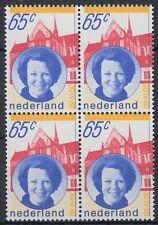 Niederlande 1981 ** Mi.1175 A Bl/4 Königin queen Beatrix [st2436]