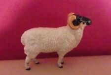 RARE BESWICK RARE BREEDS BORERAY SHEEP MODEL NUMBER 4124 - BOXED - PERFECT !!