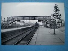 PHOTO  GWR ASHCHURCH RAILWAY STATION IN THE 1950'S