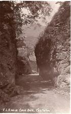 Cave Dale Castleton unused RP old postcard E.L.S Good
