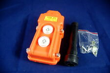 1 NEW Hoist And Crane Pendant Control Station Push Button Switch UP-Down COB-61