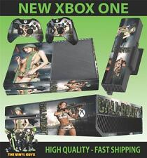 XBOX ONE CONSOLE STICKER CALL OF BOOTY SEXY SOLDIERS DECAL SKIN & 2 PAD SKINS