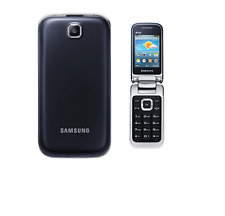 New Samsung C3595 Flip Fold 3G Camera Unlocked Big Buttons Mobile Phone FM ratio