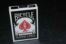 Bicycle Black Rider Back 808 Playing Cards Deck