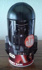 Head Shaped Coin Bank - Star Wars - Darth Vader Tin Metal Box New Toys 348007-2