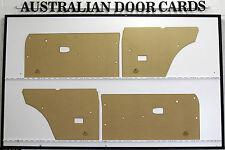 Datsun 1200. Coupe, Panel Van. Door Cards / Trim Panels. Nissan B110 Coupe