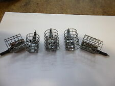 Matrix Stainless Steel cage Feeders set/5  large 45-120 grams