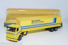 PLAYART PLAY ART SCANIA BEERS TRUCK TRAINING YELLOW NEAR MINT BOXED