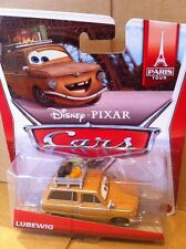 "DISNEY CARS DIECAST - ""Lubewig"" - Paris Tour Series - Combined Postage"