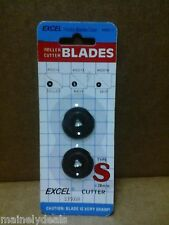 EXCEL HOBBY BLADES ROLLER CUTTER BLADES 60014 NEW OLD STOCK