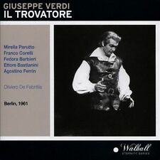 Verdi: Il Trovatore New CD