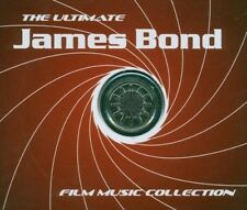 JAMES BOND 007 Ultimate Musica pellicola 4 CD Scatola COLLECTION