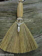 BESOM BROOM & GODDESS CHARM 170 mm Wicca Pagan Witch Goth WITCHES' ALTAR BROOM