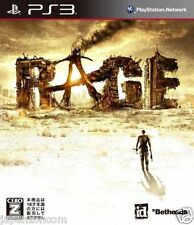 Used PS3 Rage SONY PLAYSTATION 3 JAPAN JAPANESE IMPORT