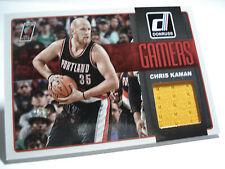 2014-15 Panini  DONRUSS NBA  Chris Kaman  GAMERS JERSEYS  #05