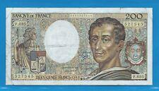 F.035      200 Francs MONTESQUIEU  de 1985