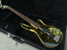 BAD CAT Custom Acrylic Lucite Clear Body Electric Guitar Bass See Thru Glass