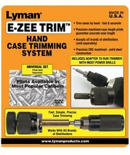 Lyman * E-ZEE TRIM Hand Case Trimmer (NO PILOTS) 7821890 * New!
