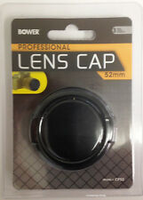 Bower 52mm Lens Cap for Nikon D5100 D5300 D3300 D3100 D3200 with 18-55mm