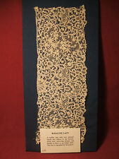 Beautiful Antique Victorian Rosaline Lace c1875-1900 Lovely! No Reserve