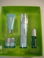 Clinique Turnaround Revitalizing Facial Skin Care 4 Piece Set Gift Boxed