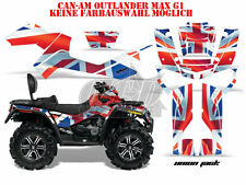 AMR RACING DEKOR GRAPHIC KIT ATV CAN-AM OUTLANDER STD & XMR MAX  UNION JACK B