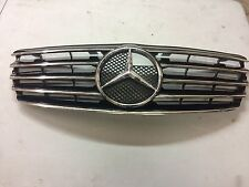 Mercedes Benz E Class W211 09-14 5 Fin Front Black Chrome Grill