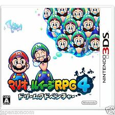 Used Mario & Luigi RPG4 Dream Adventure NINTENDO 3DS JAPANESE  IMPORT