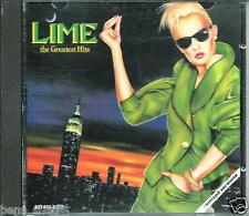LIME  *GREATEST HITS* RARE ORIGINAL LOOP 1985 COMPILATION CD ALBUM LIKE NEW