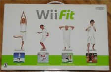 Wii Fit Balance Board & Game Bundle, Nintendo NEW in Retail Box