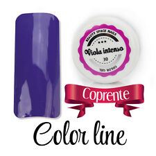 Color Line - 30 Viola intenso - glass effect - gel uv colorato 5ml