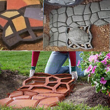 DIY Plastic Path Maker Mold Manually Paving/Cement Brick Molds The Stone Road