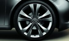 """VAUXHALL INSIGNIA 20"""" ANTHRACITE 5 TWIN SPOKE ALLOY WHEELS SET OF 4 GENUINE NEW"""