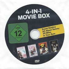 4-IN-1 MOVIE BOX 1) Sweet Destiny 2) All About Tammy 3) 30 Miles 4) In Your Eyes
