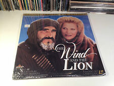 The Wind And The Lion 1975 Sealed Letterbox Adventure Laserdisc-NOT DVD Connery