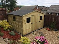 TANALISED PRESSURE TREATED SHED 8x6 **BEST ON EBAY**