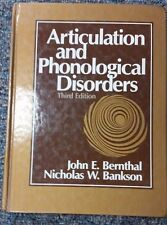 Articulation and Phonological Disorders - John E. Bernthal & Nicholas W. Bankson