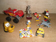 Lotto Stock Minifigures Disney Mickey Mouse Minnie Daisy Duck Planes Cars Walle