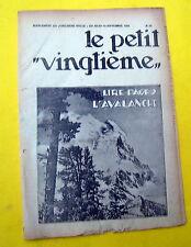 TINTIN HERGE PETIT VINGTIEME 1931 NO 37 BON ETAT