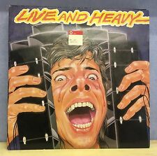 VARIOUS Live And Heavy 1981 UK Vinyl LP EXCELLENT CONDITION black sabbath