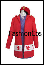 APH Axis Powers Hetalia Canada Female Uniform Cosplay Costume