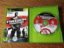 Freedom Fighters (Microsoft Xbox, 2003) COMPLETE/TESTED!!!!!