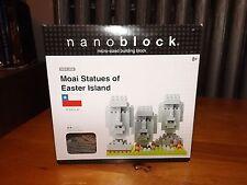 NANOBLOCK MICRO SIZED BUILDING, MOAI STATUES OF EASTER ISLAND, NBH-009, NIB