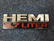 Dodge Ram 5.7 Liter Hemi Badge