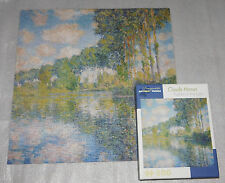 Claude Monet Poplars on the Epte 500 Piece Pomegranate Artpiece Jigsaw Puzzle