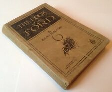 The Book Of The Ford - R. T. Nicholson - First Edition c1916 - Rare Vintage HB