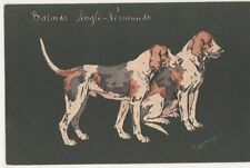 Espinassy, Hunting Dogs Balards Anglo-Normands Postcard, B268