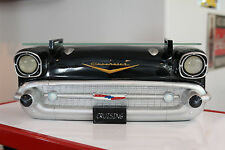 1957 Chevrolet Bel Air Painted Resin Lighted Wall Shelf with Glass Top: 7580-112